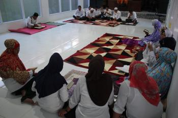 Tingkatkan Etos Kerja Pegawai, Dinkes Rutin Gelar Pengajian Setiap Bulan Ramadhan