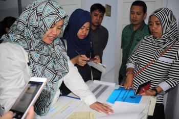 Terbaik di Sulbar, Gudang Farmasi Majene Jadi Tempat Studi Banding